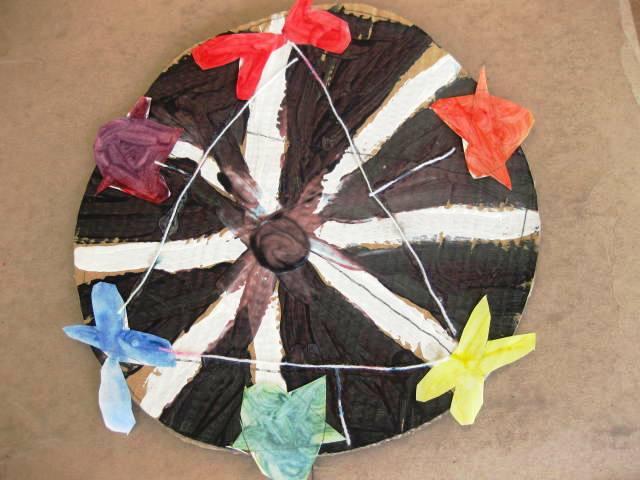 Grade one color wheel