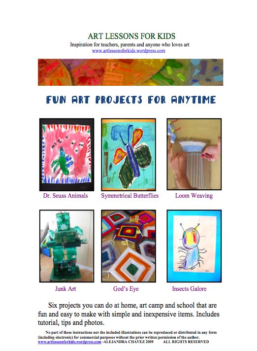 Art Lessons For Anytime