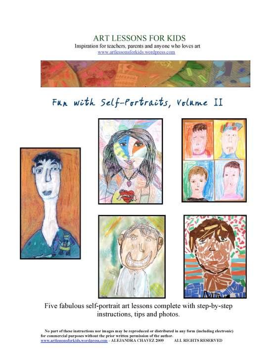Fun with self portraits ii e book giveaway