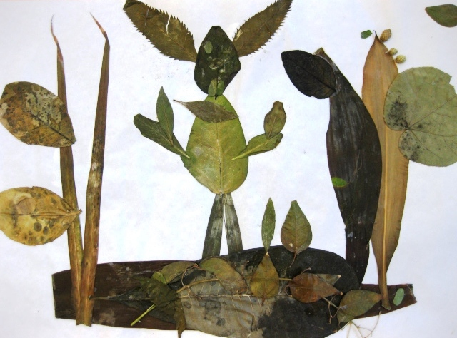 Leaf Collages In Grade Two Art Lessons For Kids