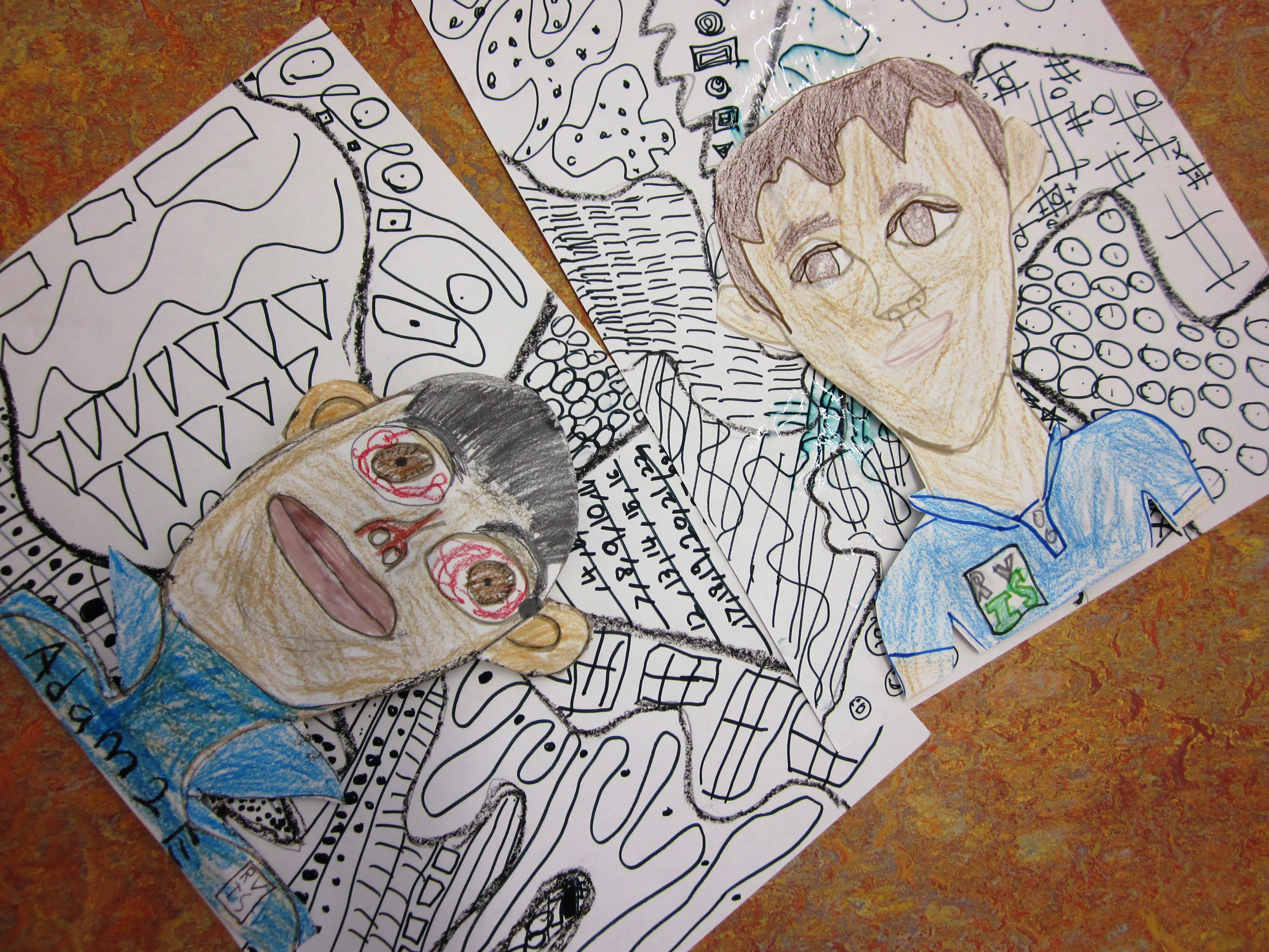 more self portraits art lessons for kids