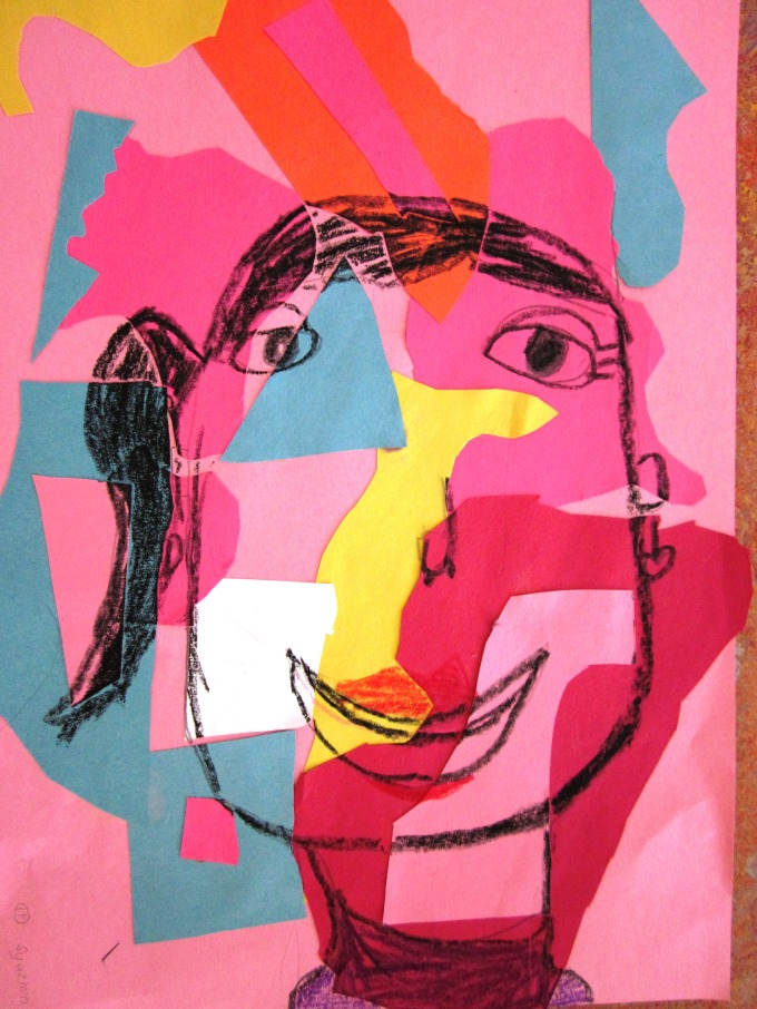 Matisse Inspired Self-Portraits in Grade One | Art Lessons ...