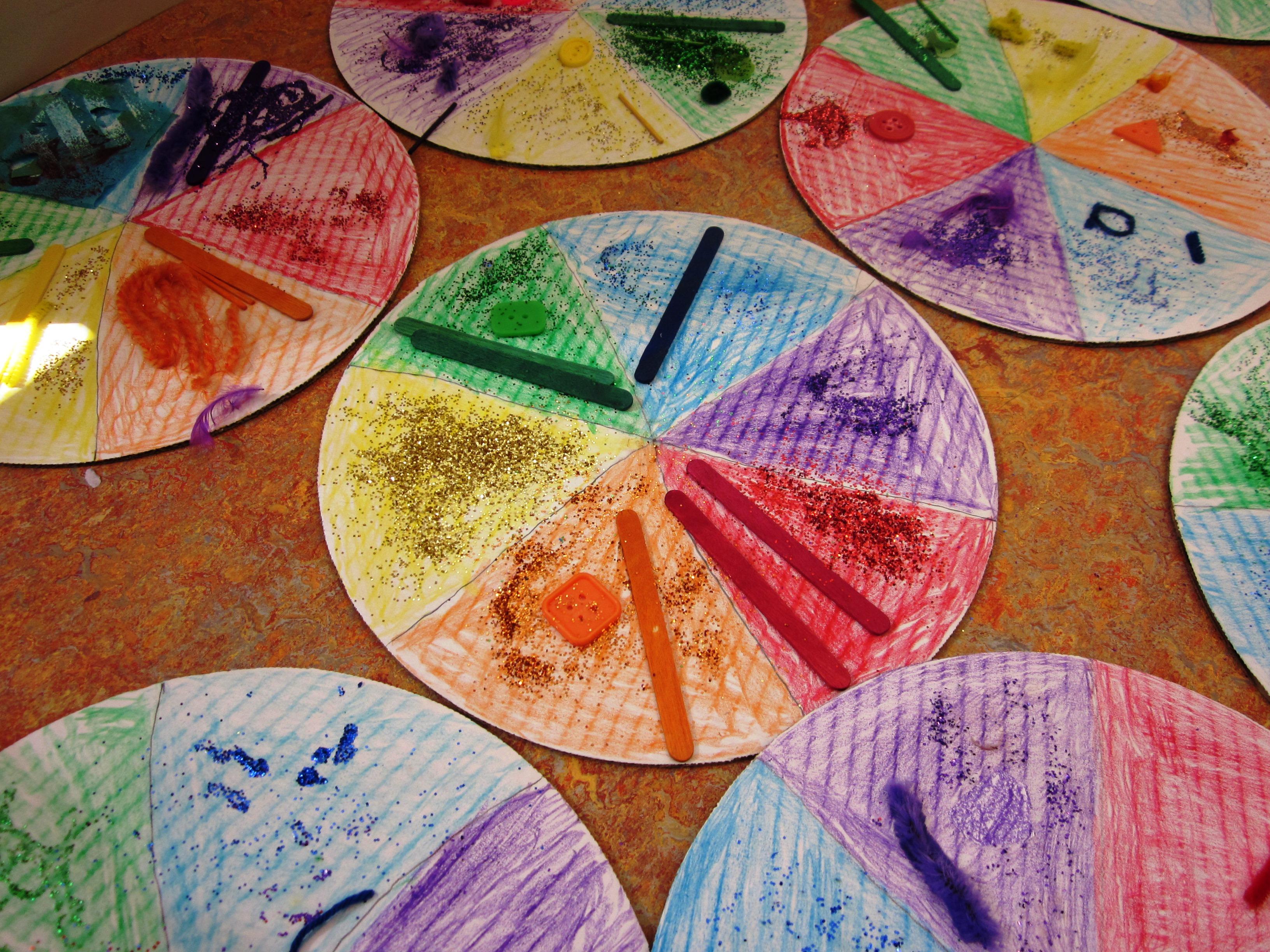 Color wheel lesson plan elementary