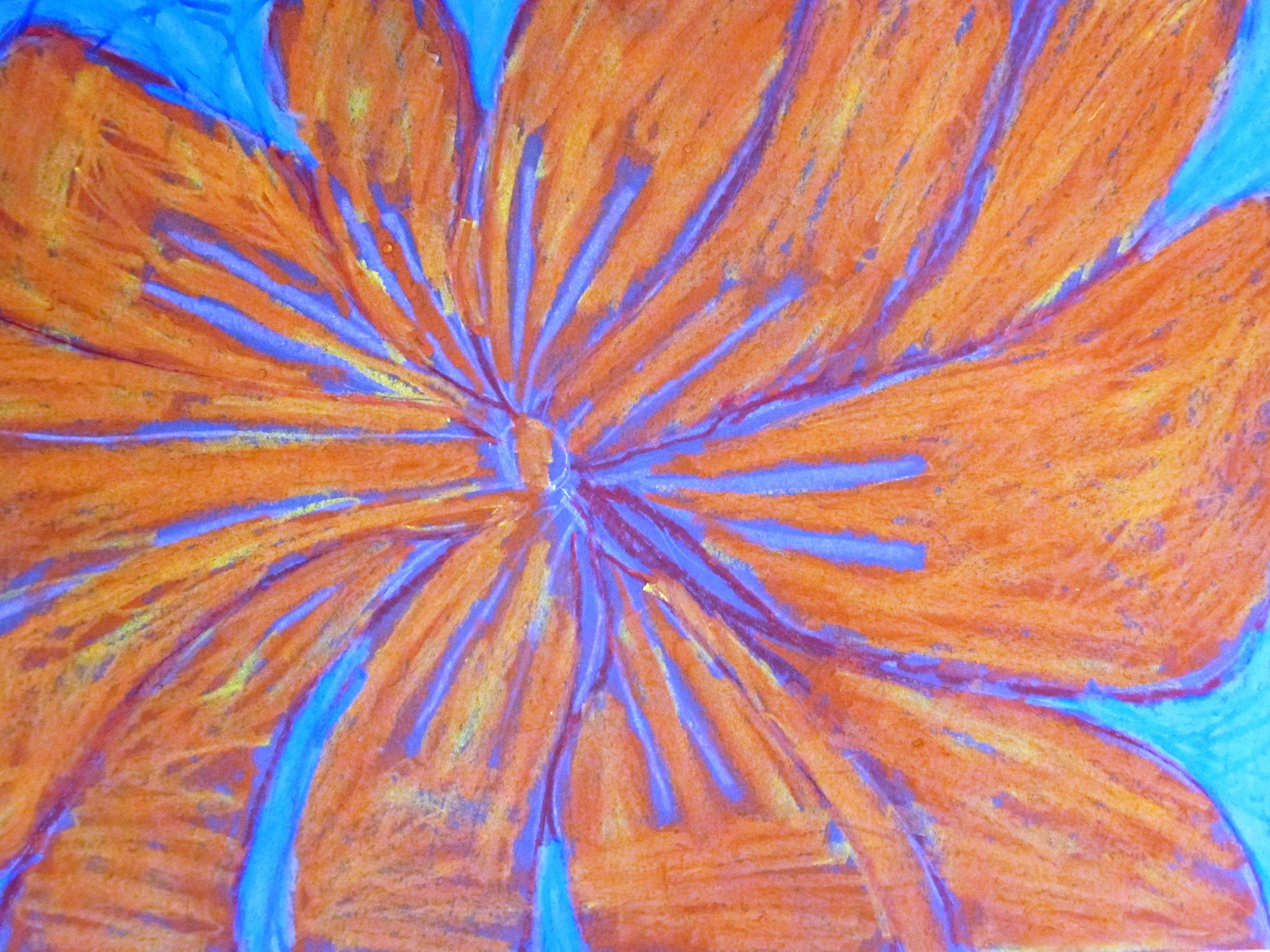 oil pastels | Alejandra Chavez