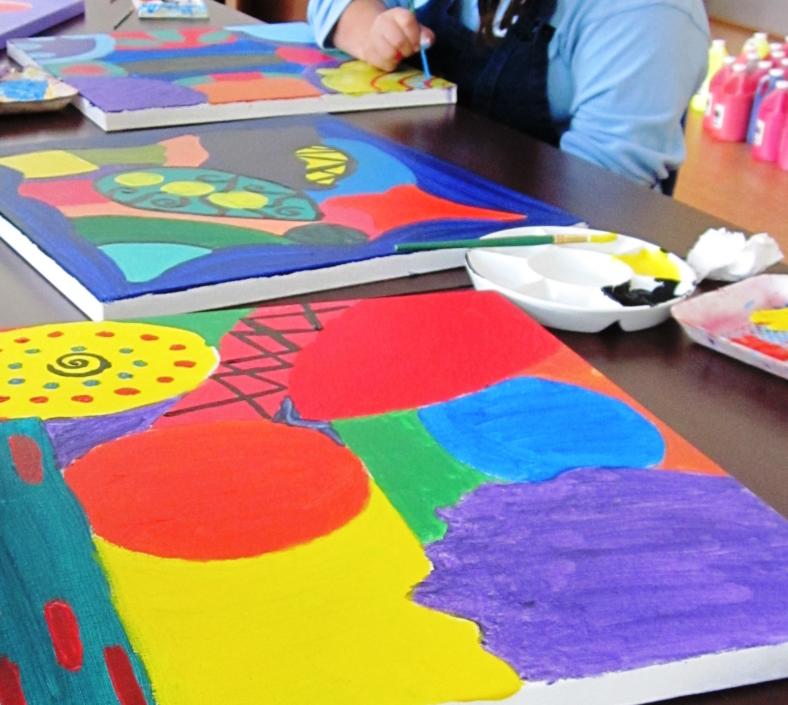 Gorgeous Abstract Art In Grade Seven Art Lessons For Kids