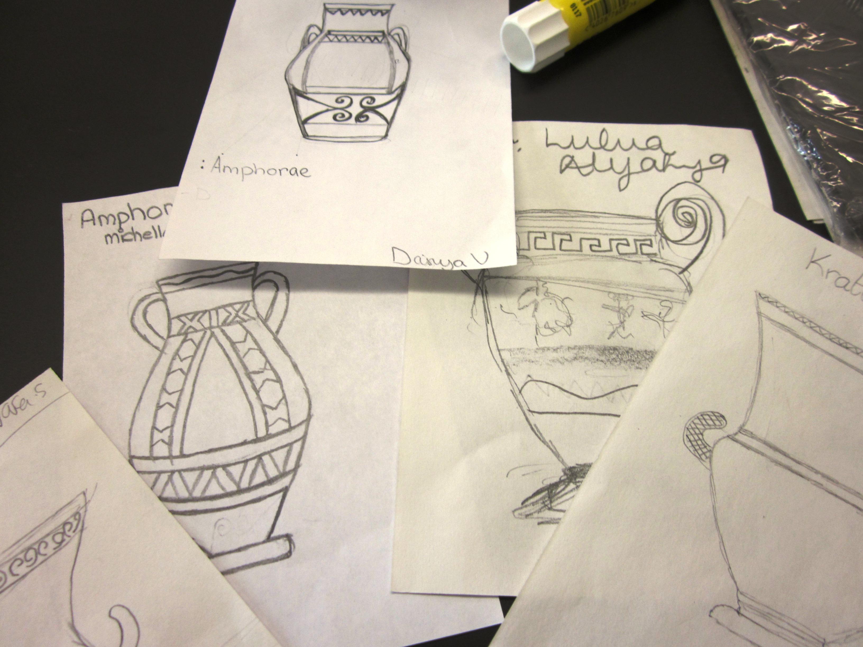 Greek Art Projects For Middle School