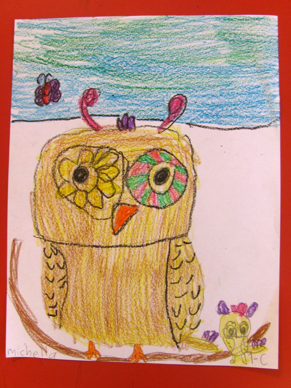 teach how to draw gorgeous owls in grade one art lessons