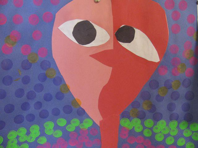 Picasso Inspired Faces in Grade 3 | Alejandra Chavez