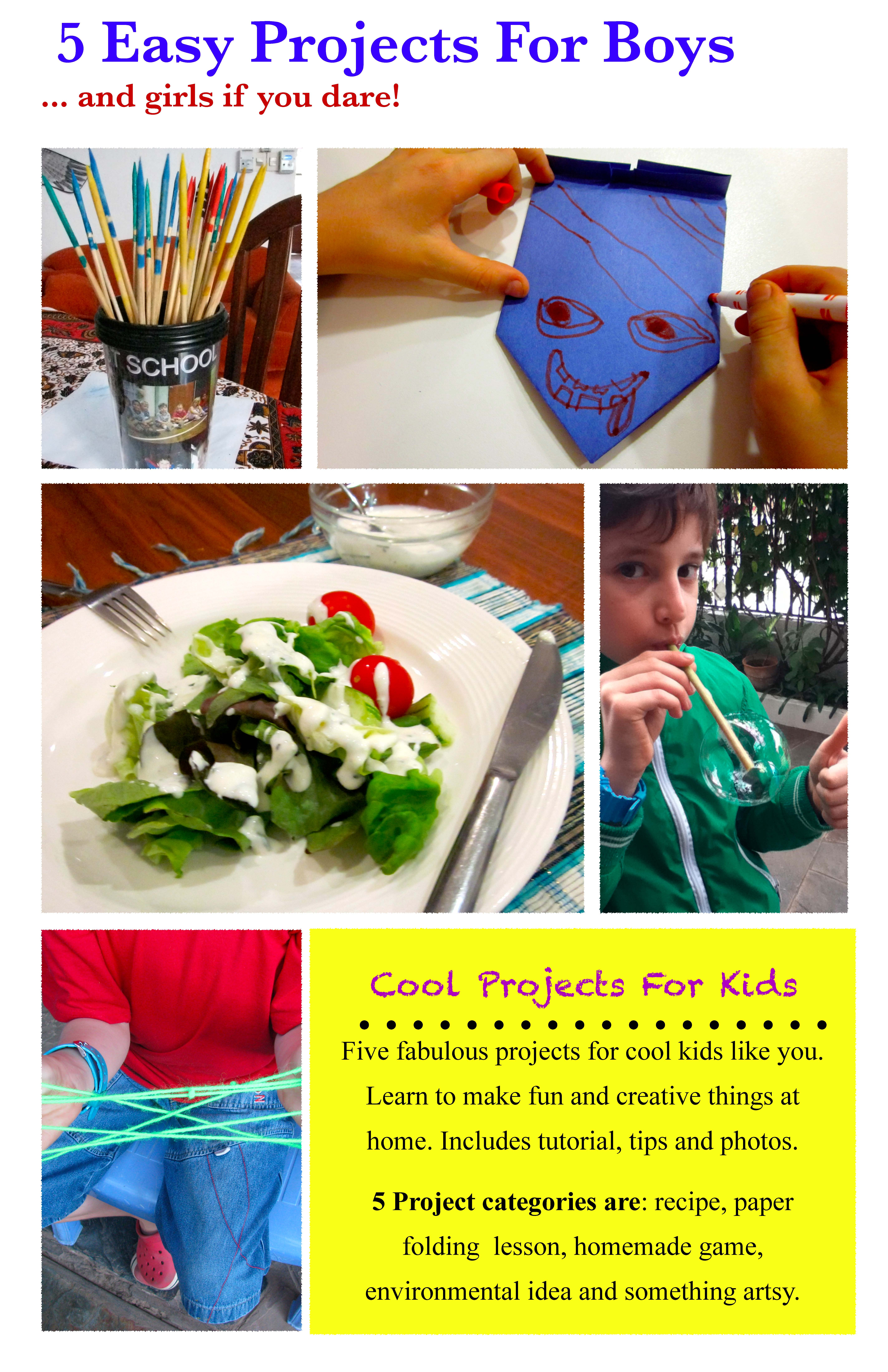 cool projects for kids ebook alejandra chavez cover page