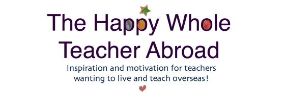 The Happy Whole Teacher banner