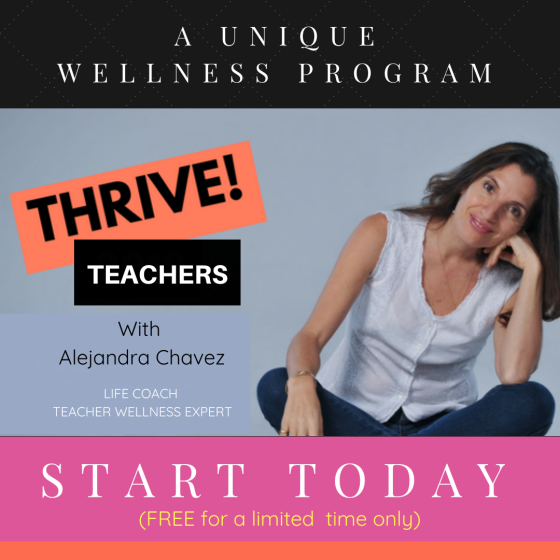 THRIVE Teacher Wellness program