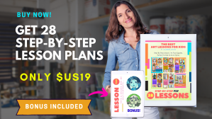 Art lesson ebook bundle