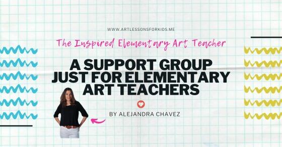 The Inspired Elementary Art Teacher Group